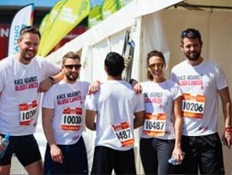 Recruiters to take part in London Triathlon