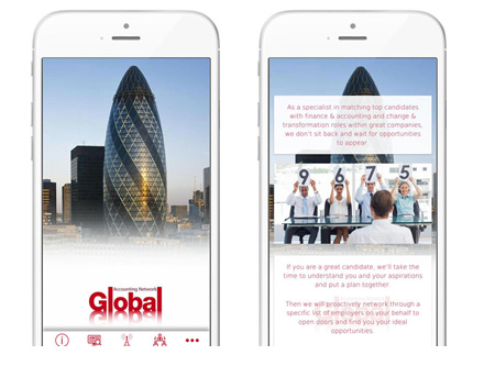 Global launches mobile app